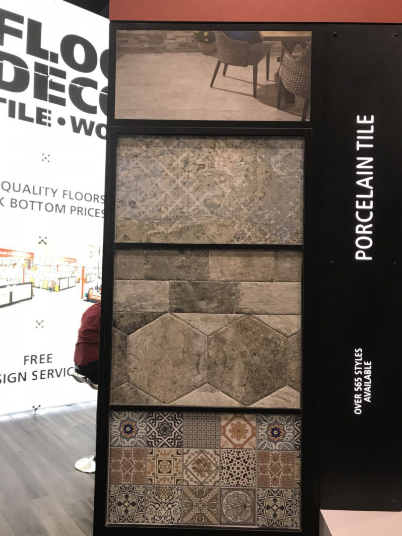ibs展作为美国建材市场交易平台,大部分参展的产品都是木地板
