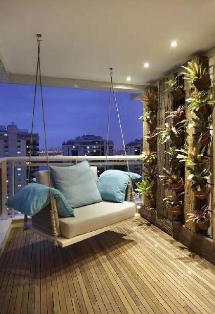 小户型的阳台设计,偏爱这一方小天地